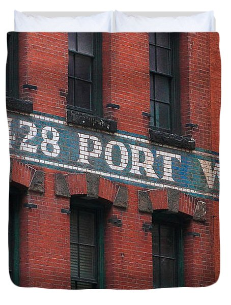 428 Port Warehouse Duvet Cover