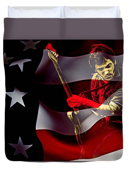 Bruce Springsteen Collection Duvet Cover