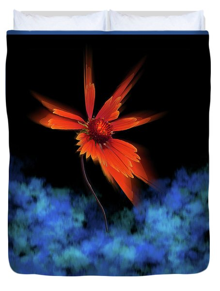 Duvet Cover featuring the photograph 4383 by Peter Holme III
