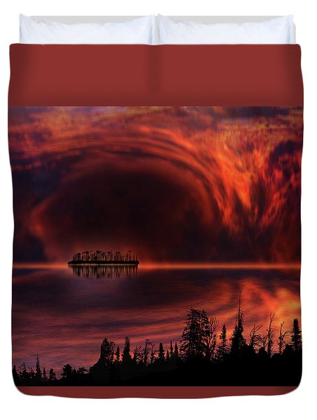 Duvet Cover featuring the photograph 4385 by Peter Holme III