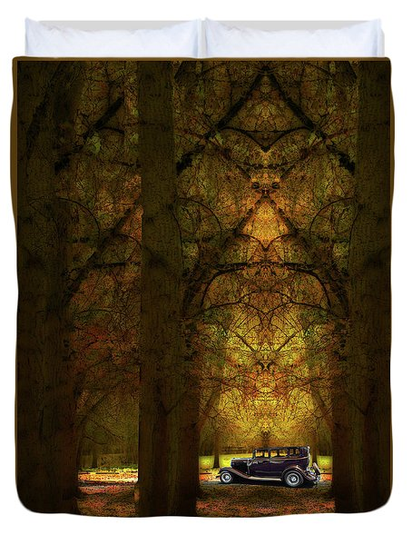 Duvet Cover featuring the photograph 4390 by Peter Holme III