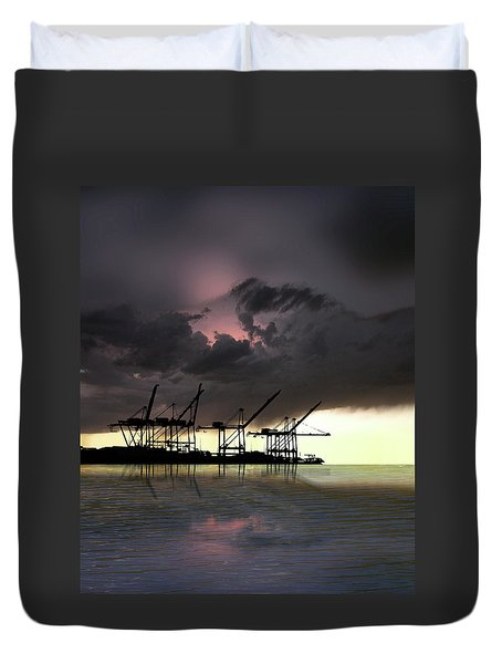 Duvet Cover featuring the photograph 4396 by Peter Holme III