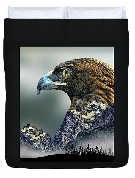 Duvet Cover featuring the photograph 4397 by Peter Holme III