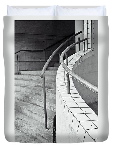 Stone Steps Duvet Cover