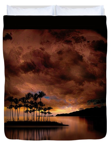 Duvet Cover featuring the photograph 4401 by Peter Holme III