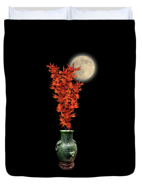 Duvet Cover featuring the photograph 4406 by Peter Holme III