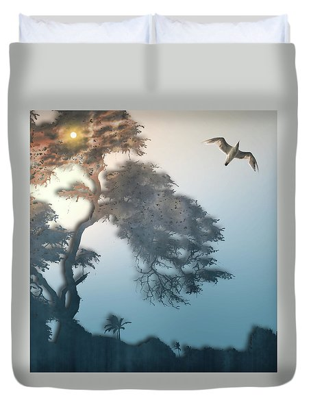 Duvet Cover featuring the photograph 4408 by Peter Holme III