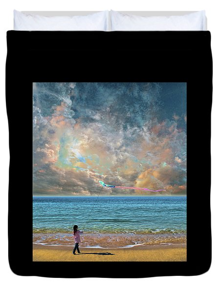 Duvet Cover featuring the photograph 4410 by Peter Holme III