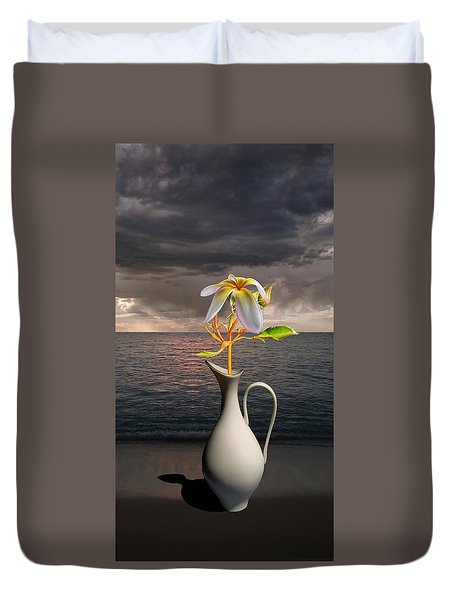 Duvet Cover featuring the photograph 4416 by Peter Holme III