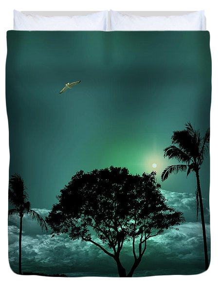 Duvet Cover featuring the photograph 4420 by Peter Holme III