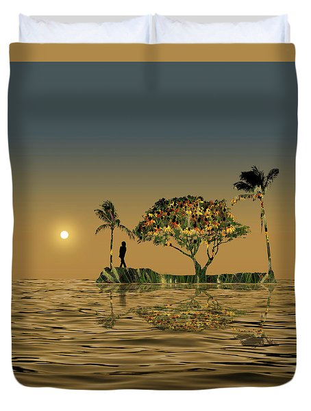 Duvet Cover featuring the photograph 4423 by Peter Holme III