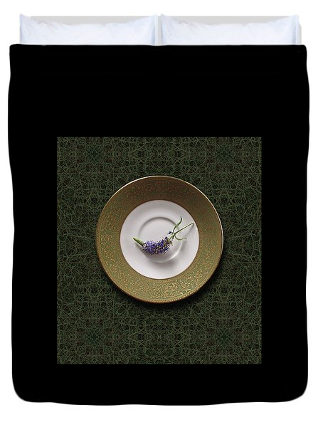 Duvet Cover featuring the photograph 4424 by Peter Holme III