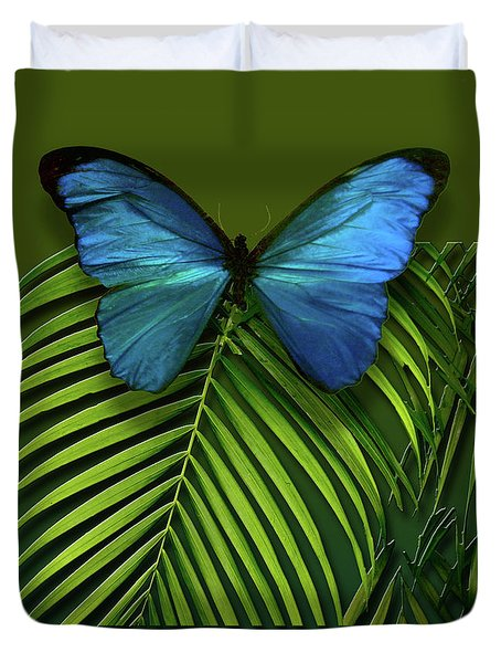 Duvet Cover featuring the photograph 4426 by Peter Holme III