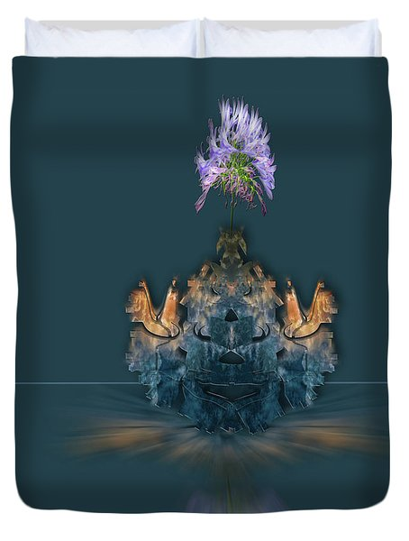 Duvet Cover featuring the photograph 4488 by Peter Holme III