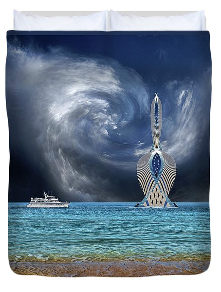 Duvet Cover featuring the photograph 4492 by Peter Holme III