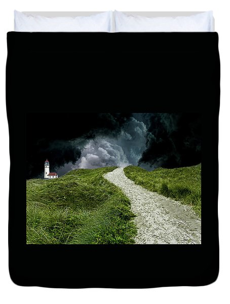 Duvet Cover featuring the photograph 4495 by Peter Holme III