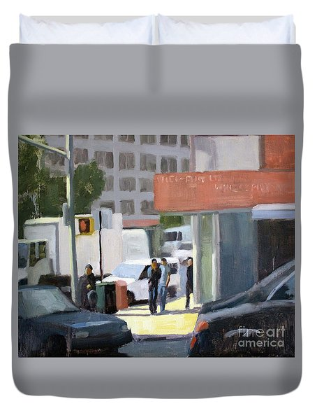 44th And 4th Duvet Cover