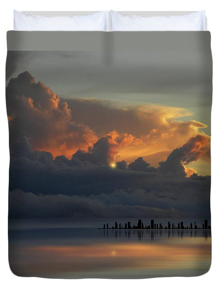 Duvet Cover featuring the photograph 4500 by Peter Holme III
