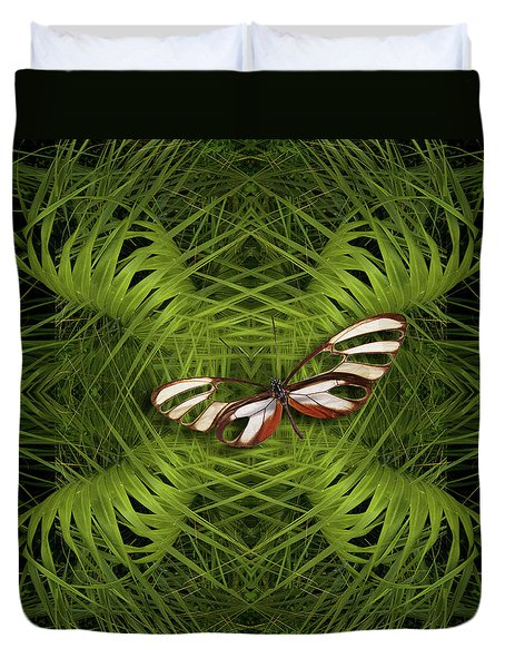 Duvet Cover featuring the photograph 4501 by Peter Holme III