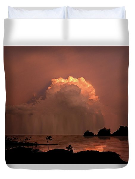 Duvet Cover featuring the photograph 4503 by Peter Holme III