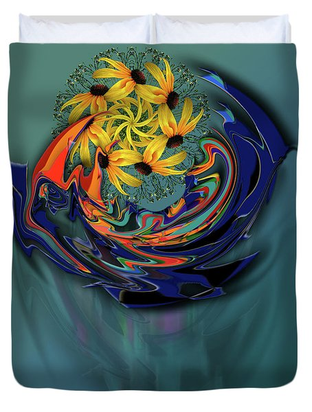 Duvet Cover featuring the photograph 4504 by Peter Holme III