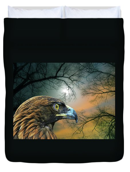 Duvet Cover featuring the photograph 4506 by Peter Holme III