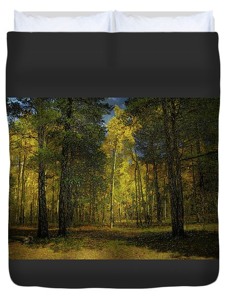 Duvet Cover featuring the photograph 4508 by Peter Holme III
