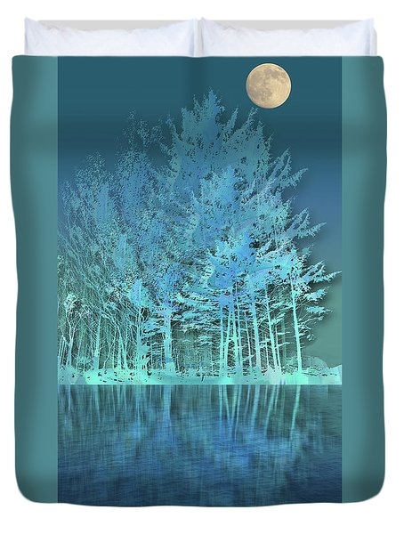 Duvet Cover featuring the photograph 4510 by Peter Holme III