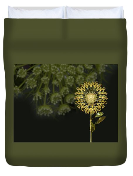 Duvet Cover featuring the photograph 4512 by Peter Holme III