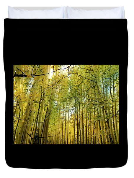 Duvet Cover featuring the photograph 4514 by Peter Holme III