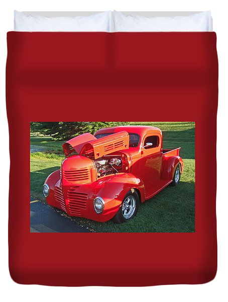 '47 Dodge Pickup Duvet Cover