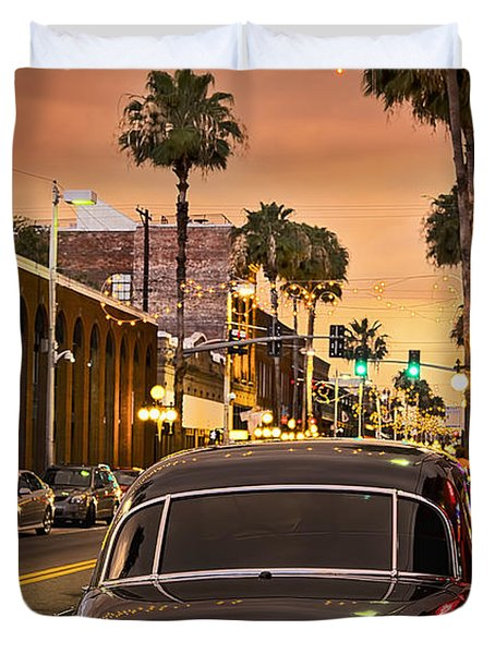 Duvet Cover featuring the photograph 48 Cadi by Steven Sparks