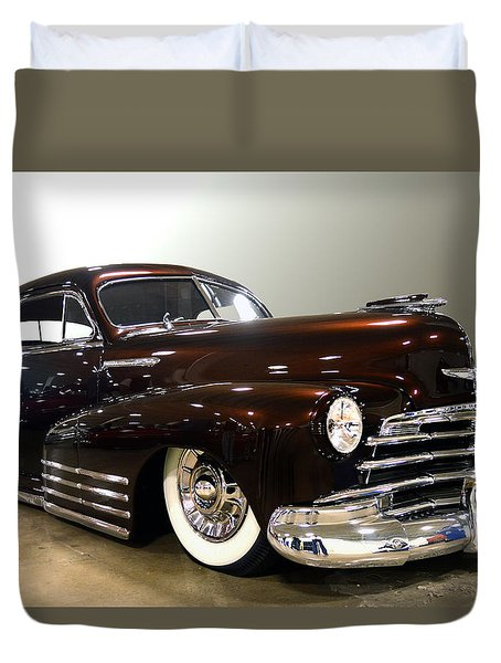 48 Chevy  Duvet Cover by Bill Dutting