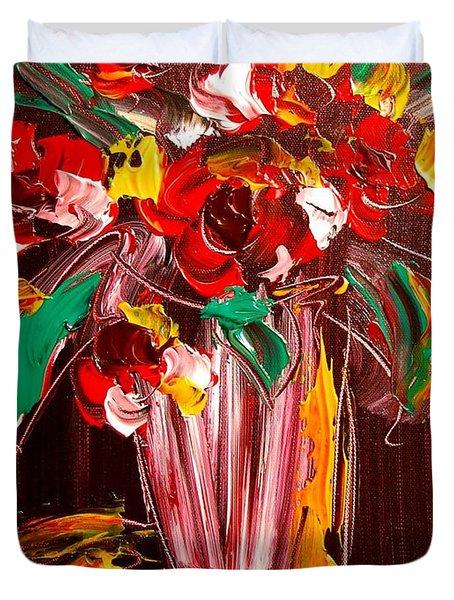 Flowers Duvet Cover by Mark Kazav