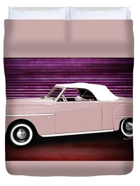 49 Dodge Wayfarer Roadster Duvet Cover