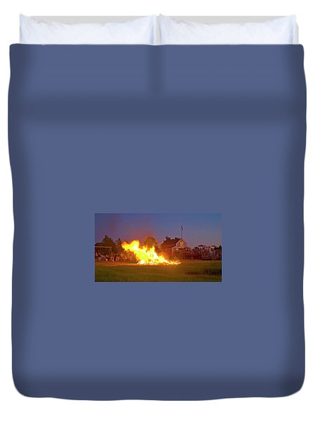 4th Of July 2010 Byc Duvet Cover by Charles Harden