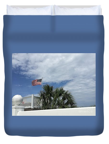 4th Of July Weekend Duvet Cover