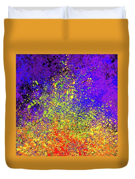 Abstract Composition Duvet Cover