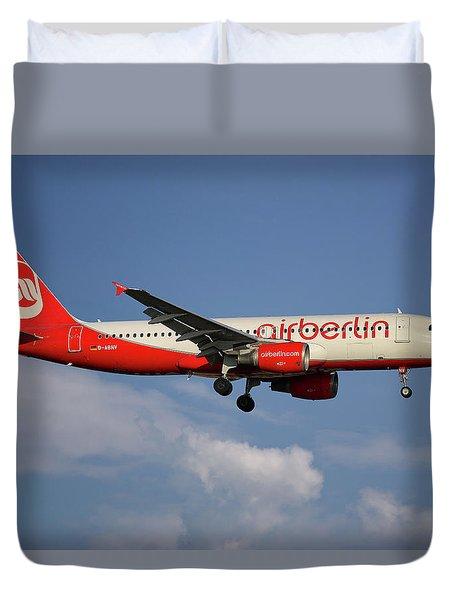 Air Berlin Airbus A320-214 Duvet Cover