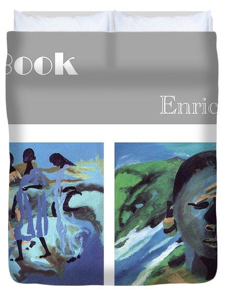 Art Book Duvet Cover