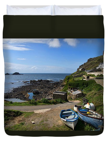 Cape Cornwall Duvet Cover