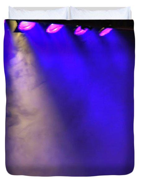 Coloured Stage Lights Duvet Cover