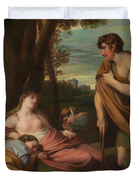 Cymon And Iphigenia Duvet Cover