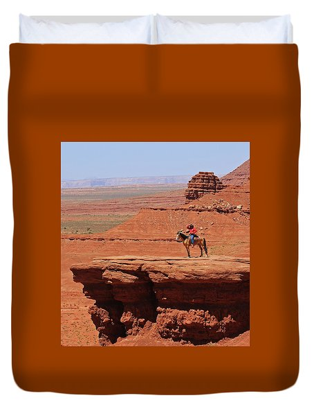 Grand Canyon Duvet Cover by Ronald Olivier