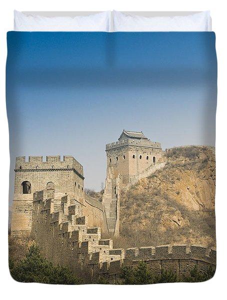 Great Wall Of China - Jinshanling Duvet Cover