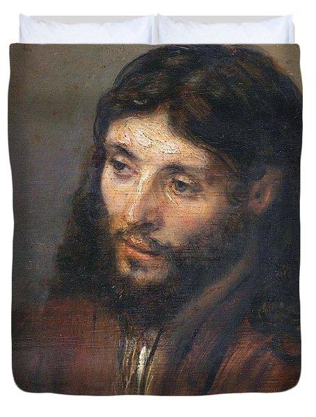 Head Of Christ Duvet Cover