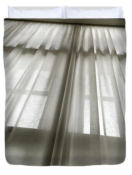 Linen Curtain Duvet Cover
