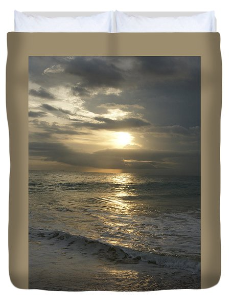 Long Beach Kogalla Duvet Cover