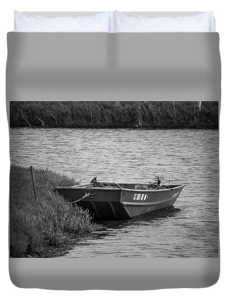 Lubec, Maine  Duvet Cover