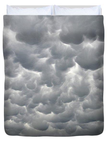 Mammatus Clouds Duvet Cover